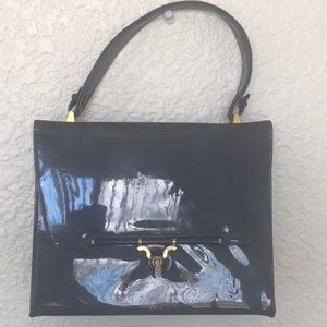 Triangle New York hard case mini bag vintage